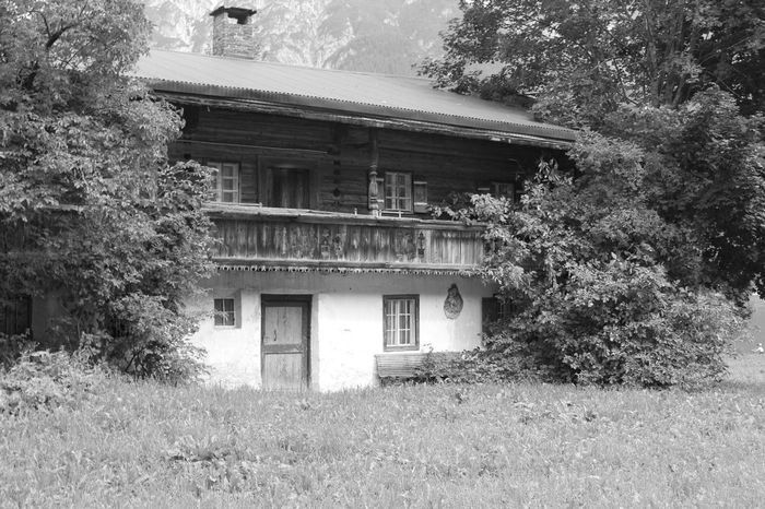 Berghof Bauhof Bergwelten Nature Building Building Story Monochromatic Monochrome Monochrome Photography The Week On EyeEm Lost In The Landscape Black And White Friday