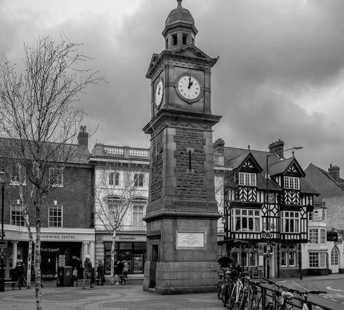 Clock Tower, Rugby, Warwickshire Architecture FUJIFILM X-T10 Monochrome Black And White Warwickshire Rugbytown Rugby Clock Tower