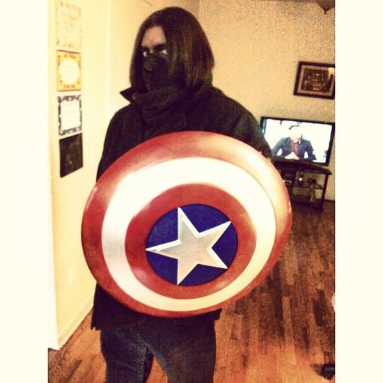 Happy halloween!! Halloween WinterSoldier Captainamerica Costume Marvel