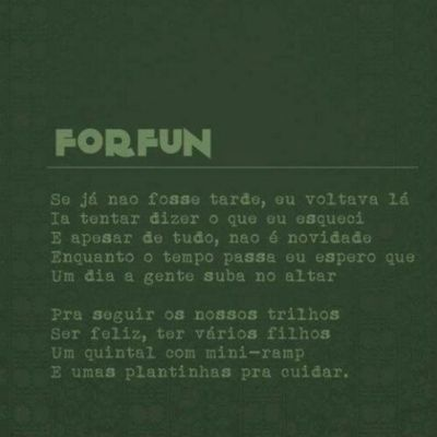 Momento Poesia, Louco pelo show do Forfun! Forfun Rio Cariocagram Music Style