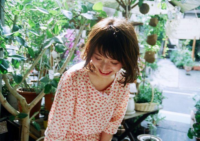Film Photography Filmisnotdead Filmphotographer Japanesegirl Tokyo Days Natural Light Portrait Flowers Nature Photography