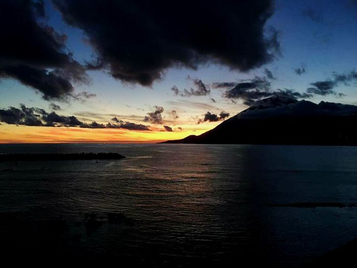 Sunset in Pico Island Miles Away Açores - Portugal Sunset Landscape Beauty Travel Remote Beauty In Nature Dramatic Sky Cultures Scenics Outdoors Mountain Nature Travel Photography Missions Travelshots Reflection Water Eye4photography  EyeEm Gallery EyeEm Best Shots Travel Destinations Photography Mountain Range