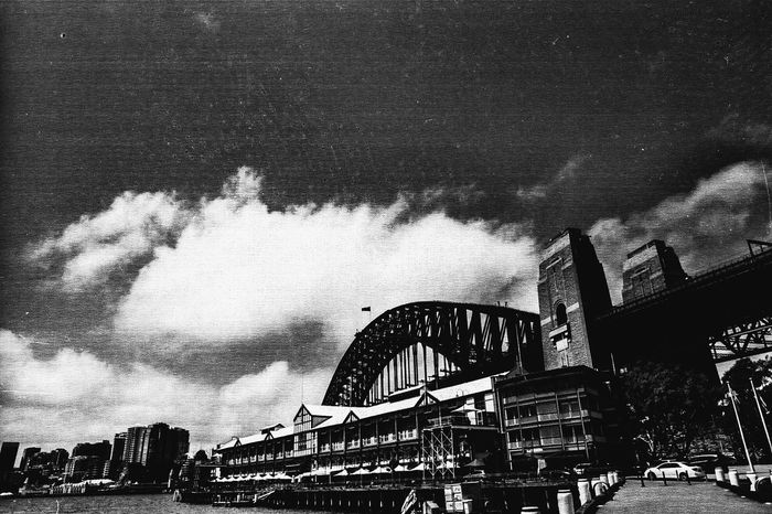 Harbour Harbour Bridge Sydney, Australia Black And White Nikon Nikon FE Film Photography Film Camera Neopan 35mm Film Wedding Day Hot Day Cityscape Bay Area Bay Sydney Harbour Bridge Sydney Sydney Harbour