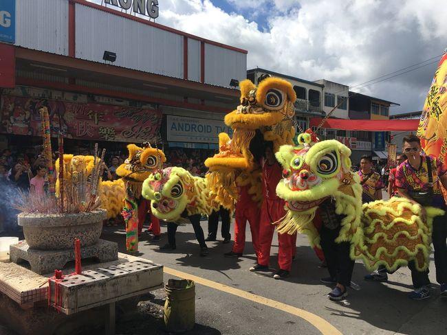 Chinese Culture Chap Goh Mei Liondance