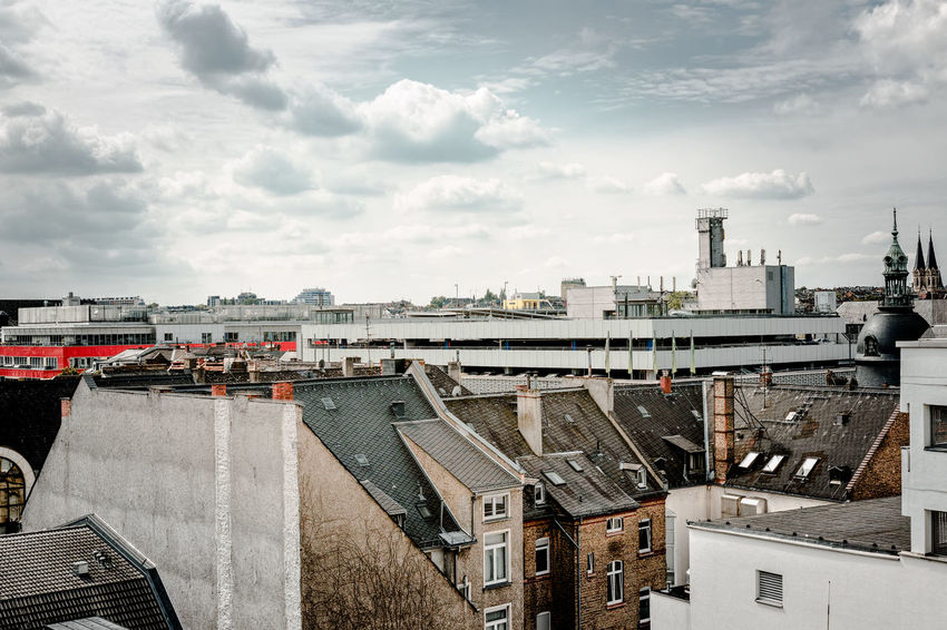 Above the roofs of Wiesbaden Above The Roofs Adapted To The City Architecture Building Exterior Building Terrace Built Structure Business Finance And Industry City Cityscape Cloud - Sky Day Harbor No People Outdoors Sea Sky Urban Skyline