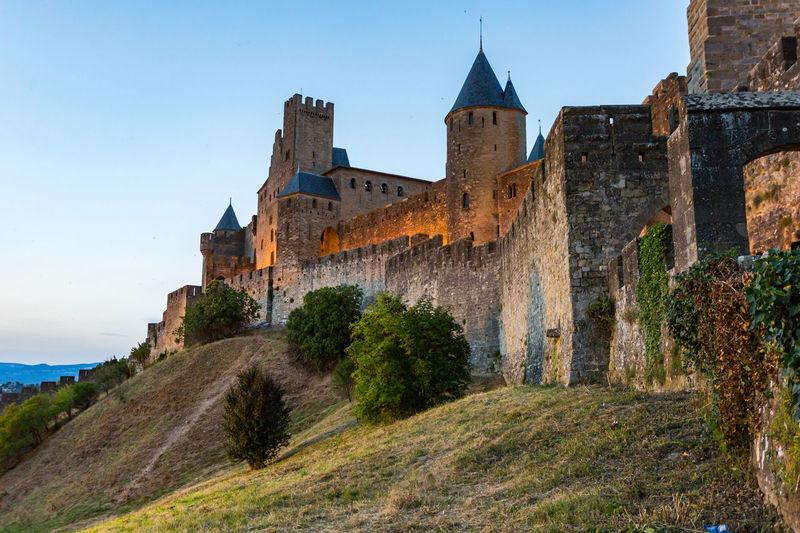 Carcassonne MedievalTown Architecture Building Exterior Built Structure Carcassonne Castle Castle Day History Medieval Architecture Medieval Castle Nature No People Outdoors Sky Travel Destinations