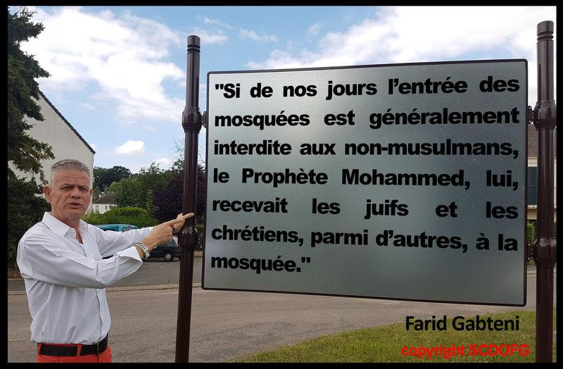 Chretiens Farid Gabteni Juifs Le Soleil Se Lève à L'Occident Mosquee ProphetMuhammad