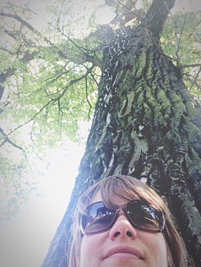 Enjoying The Sun Selfie That's Me Trees The Great Outdoors - 2015 EyeEm Awards