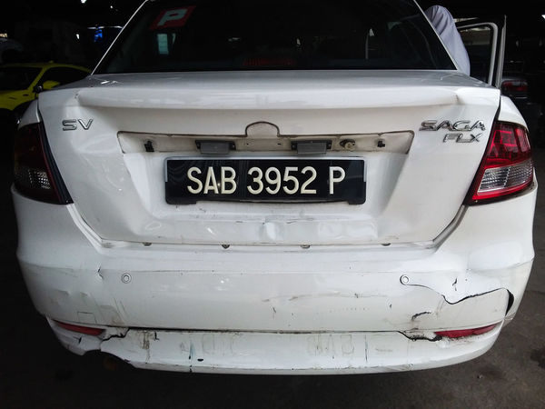 My car after the accident. Automobile Collision Course Crash Driver Horizontal Repairs Road Traffic Transportation Wreck Accident Auto Broken Car Close-up Damaged Day Injury Insurance No People Outdoors People Street Transportation Vehicle