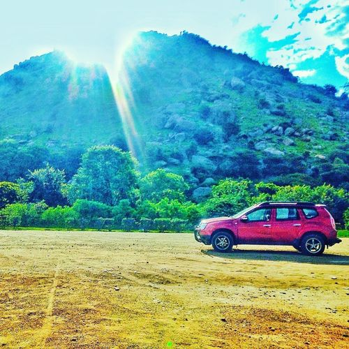 Eyeemphoto Travel Photography Travelblog Transportation Land Vehicle Car Mode Of Transport Outdoors Journey Home Journey Journeyphotography Journey Is The Destination Journey Start Journey Never Ends Journey Destination Journey Towards Mountain Beauty In Nature Trip Trip Photos Renault Duster