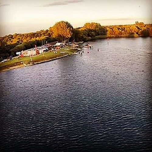 Bray Lake Watersport at 30m... Phantom2 Djiphantom2 Dji Aerophoto Braylake Sunset Drone  Flying Lake Water Gopro Braylakewatersports Braylakewatersportscentre Djieurope