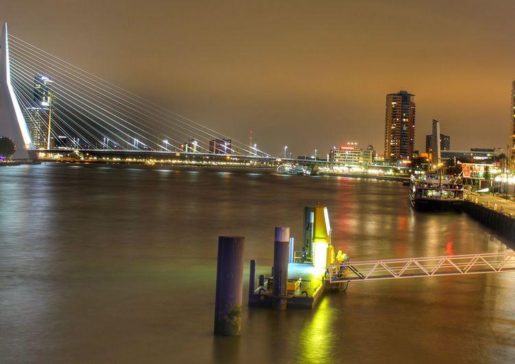 Rotterdam Bridge Long Exposure