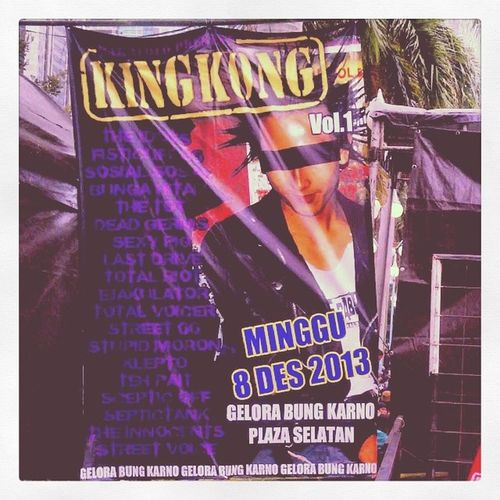 Latepost KingKong13 Punk Event Gigs Annual Scene