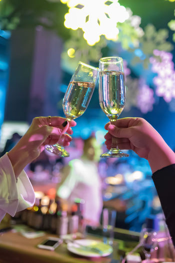 Celebratory Toast Celebration Human Hand Selective Focus Adult Summer Mid Adult Mid Adult Women Women Party - Social Event People Adults Only Drinking Event Young Men Human Body Part Young Women