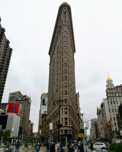 interesting shapes Architecture Design Cityscape City Design New York Flatiron Building City Modern Crowd Business Finance And Industry Architecture Sky Travel Office Building Skyscraper High Rise