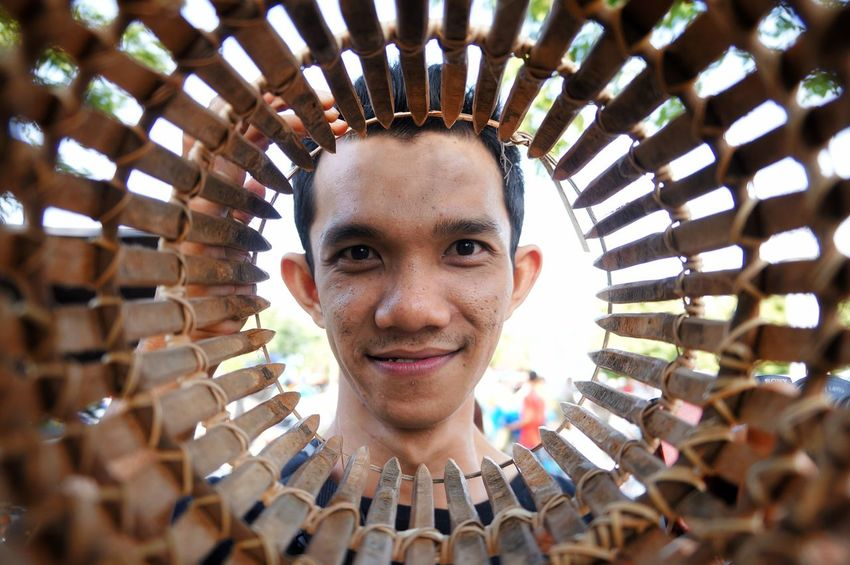 rezki emeraldi Looking At Camera Portrait Headshot One Man Only Young Adult People Smiling One Person Eye4photography  EyeEm Gallery EyeEmNewHere at Barabai INDONESIA