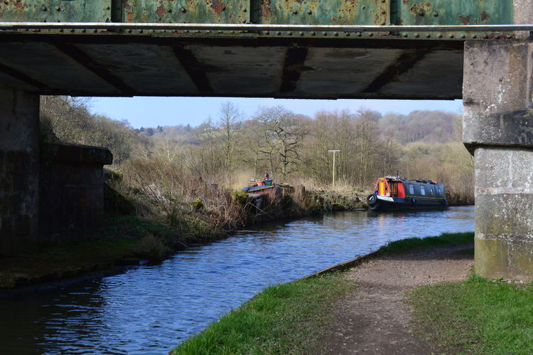 Water Real People River Reflection Day Occupation Outdoors Men Tree People Nature Adult Sky Adults Only Beauty In Nature Staffordshire Staffordshire Moorlands Canals And River Trust Cauldon Canal Canal The Way Forward Canals And Waterways