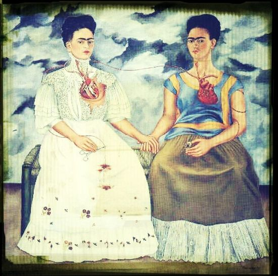 "ArtWork Hello World Beauty ""I Hope The Exit Is Joyful And I Hope Never To Return."" Frida Kahlo."