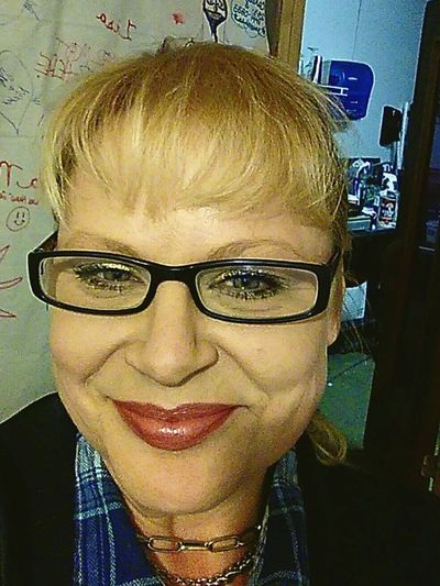 Headshot Portrait Eyeglasses  Looking At Camera Front View One Person Indoors  Blond Hair Close-up Smiling People Adult Young Adult One Woman Only Human Lips Blondie 4 Life♥