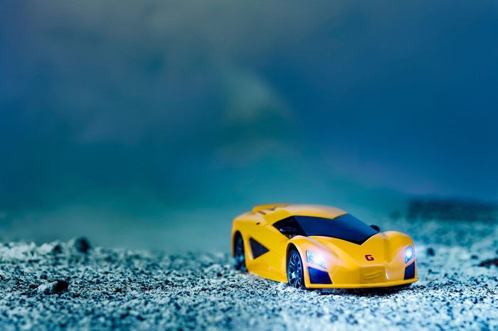 """""""Wrong Turn"""" Sport car is not supposed to go in this kind of road... Now u got to deal with the risk 😅😆 Fujifilm Close-up Toys Cars The Movie Fabrizio EyeEm Gallery From My Point Of View Diecastlovers Diecastcars Toyphotography Diecastphotography Diecastography Yellow Diecasttoys Diecast No People Cars FUJIFILM X-T1 Sand"""
