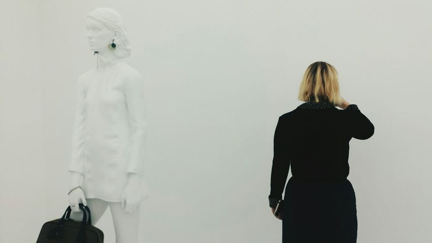 @ Louis Vuitton Series 2 Exhibition Showcase: January Minimalist RePicture Femininity Walk This Way White Getting Inspired