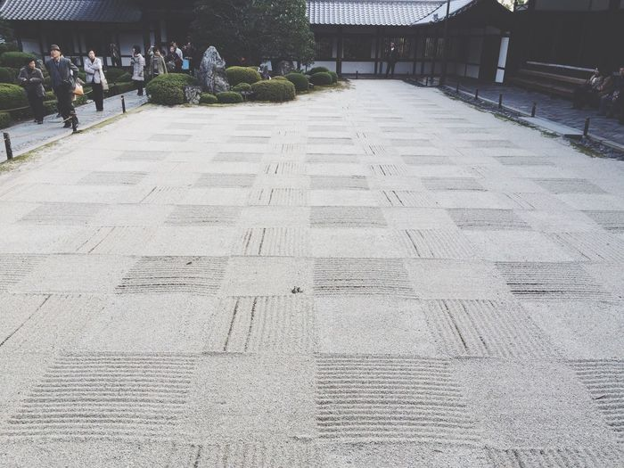 Autumn Japanese Garden In Kyoto