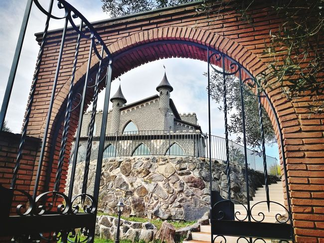 Castello Cancello Scorcio