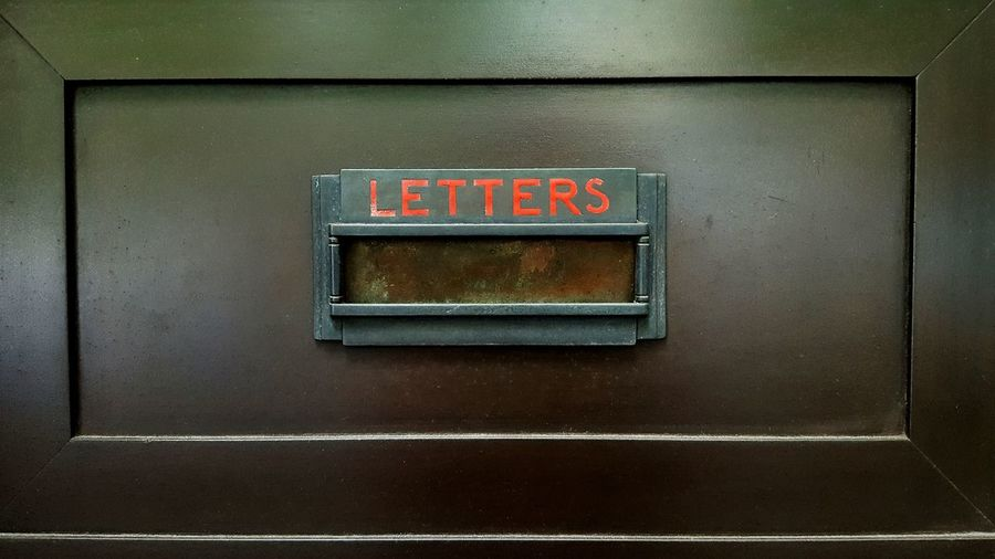 Letterbox Letter Slot Red Sign Osanpo Camera Walking Around The City  Sunday Stroll Chance Find