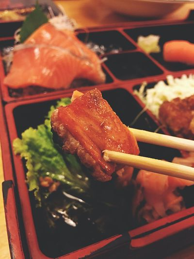 Food Food And Drink Japanese Food Chopsticks Indoors  Freshness Healthy Eating Chinese Food Meat No People Spring Roll Ready-to-eat Close-up Day