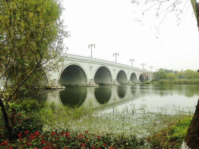 Bridge At Wuxi China At The Park River