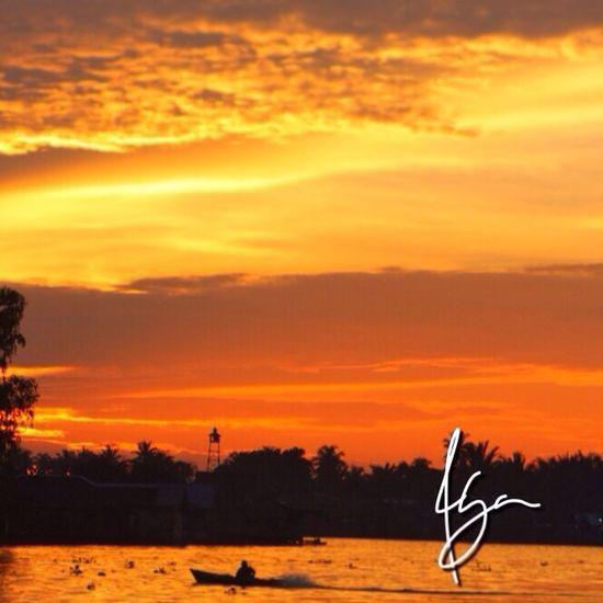 Latepost lok baintan trial photo Razhar Sunset INDONESIA