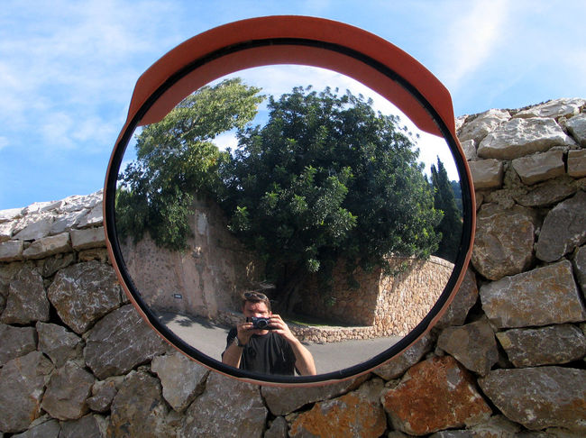 Sayhello - memoriesaremadeofthis From My Point Of View Memories Memoriesforlife Mirror Mirrorselfie Outdoors Portrait Reflection Say Hello Take A Look At Yourself Take A Look At Yourself ... The Mirror's Revealing.  Thats Me  ThatsMe
