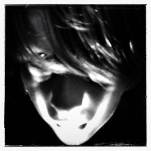 Scary ... Portrait Blackandwhite