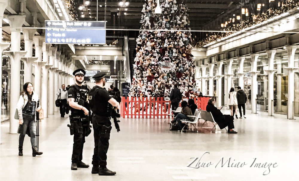 Police Uk London King's Cross, St Pancras International