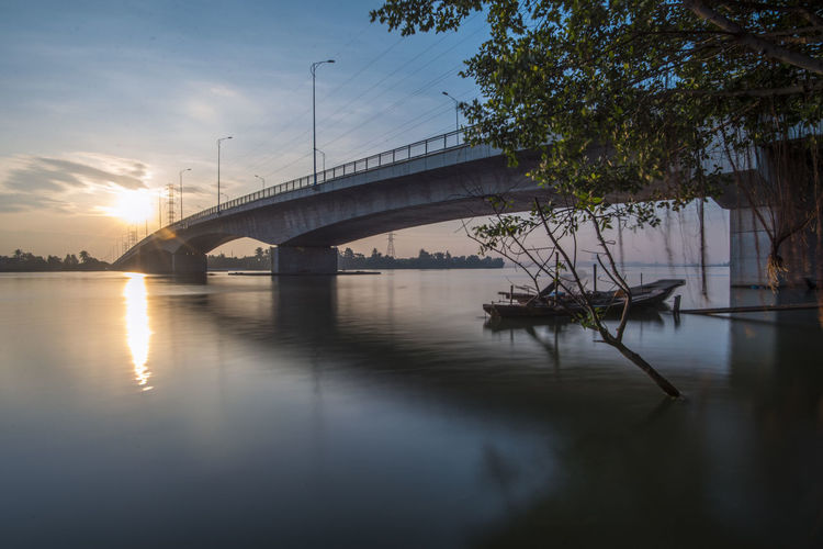 Morning River #VietnamLife #bridge #life #morocco #travelphotography #berbers #mountains #cultural #goodvibes #photography #photography #photo #photos #pic #pics #TagsForLikes #picture #pictures #snapshot #art #beautiful #instagood #picoftheday #photooftheday #color #all_shots #exposure #composition #focus #capture #moment #photoshoot  #river #water #floods #sunset #highwater #waterlogged #fivebargate #sunset #sun #clouds #skylovers #sky #nature #beautifulinnature #naturalbeauty #photography #landscape #sunset #sun #clouds #skylovers #skyporn #sky #beautiful #sunset #clouds And Sky #beach #sun _collection #sunst And Clouds Arch Bridge Architecture Bridge Bridge - Man Made Structure Built Structure Cloud - Sky Connection Engineering Nature Outdoors Reflection River Sky Sun Sunlight Sunset Transportation Tree Water Waterfront