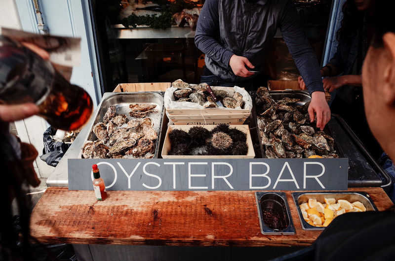 Food And Drink Postcode Postcards Choice Food Food And Drink Food Photography For Sale Freshness Occupation Oyster  Oysterbar Oysters Retail  Text