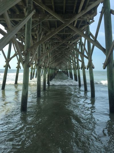 One of my favorite spots! IPhone HDR Beach Life Folly Beach