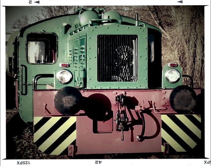 Hanging Out Eisenbahn Lokomotive Alte Lok