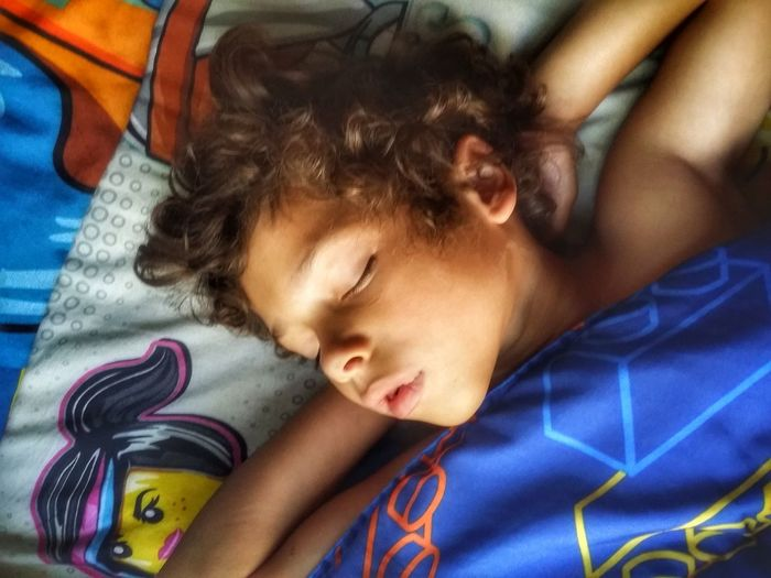 Morning Morning Light Peaceful Innocence Our Everything Another Day With Him❤️ Grateful Bedroom Child Bed Childhood Lying Down Headshot Relaxation Portrait Multi Colored Sleeping Wrapped In A Blanket Cozy Home Sweet Home EyeEmNewHere Visual Creativity