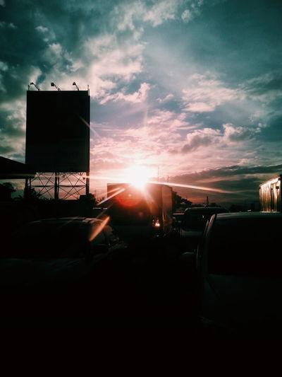 When the sun