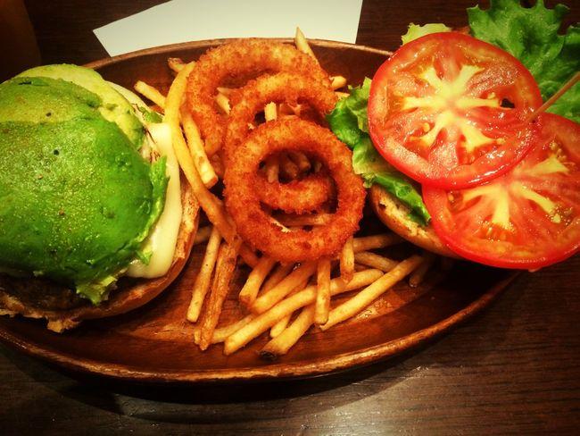 Dinner Japan Humburger KUAAINA Food Abocado Potato