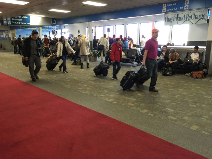 Airport Burbank Bob Hope Airport Burbankairport Group Of People Lifestyles Traveling Waiting Feel The Journey