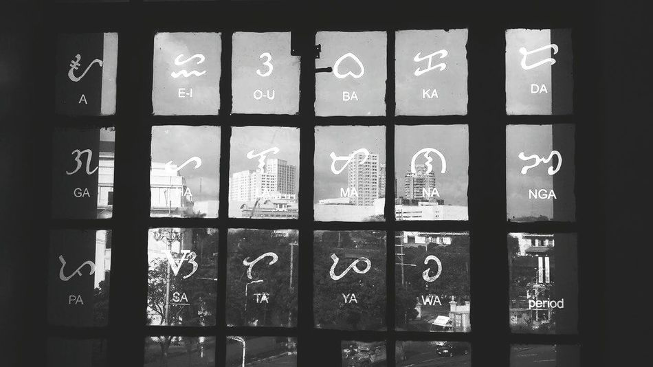 Philippines syllabic symbols Windows Writings Eyeem Philippines