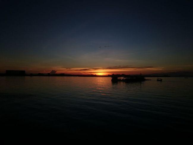 Sunset in Makassar City, Indonesia. Sunset_collection Sunser Silhouettes Sunsetlover Makassarcity Indonesia_photography Sunset_captures