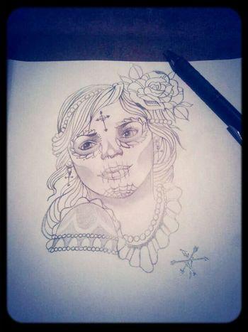 Tattoo Draw Girl