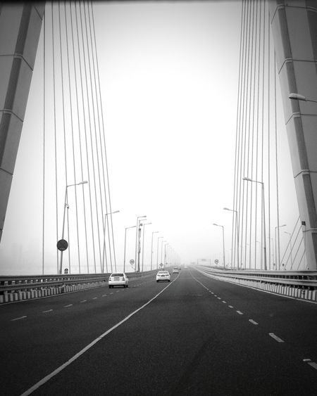 A structure that, somehow, never ceases to amaze me. Bandra Worli Sea Link Road To Nowhere Bridge View