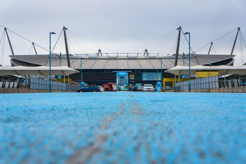 Stadium Etihad Manchester ManchesterCity Architecture Blue England