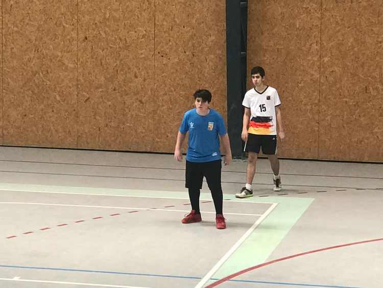 Handball match Scuola Italiana di montevideo vs colegio alemán Sport Full Length Adult Sportsman Men Athlete Young Men Young Adult Competition Clothing People Cooperation Court Lifestyles Teamwork Mid Adult Exercising Mid Adult Men Males  Coach