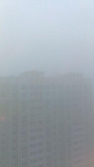 мгла утро осенний туман