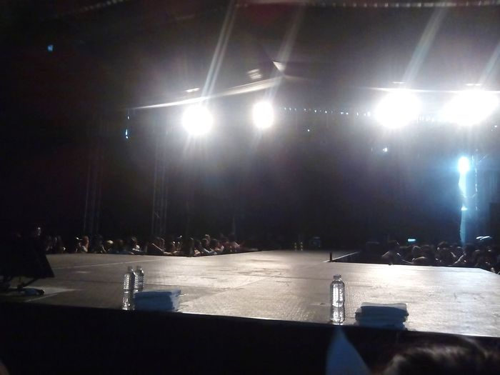 Before the concert start. I went to TRBinMexico BTS The Red Bullet K-POP 29/07/2015 Palacio De Los Deportes. I was so close to the stage. Definitely the best day of my life. There are a lot of beautiful photos can I upload but they are not mine.